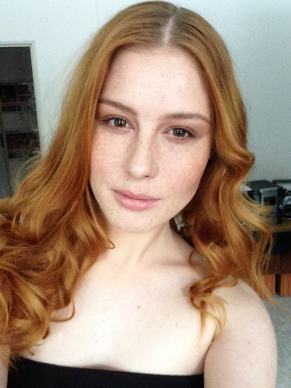 visage photoshoot lenka Regalová redhead freackles photoshoot