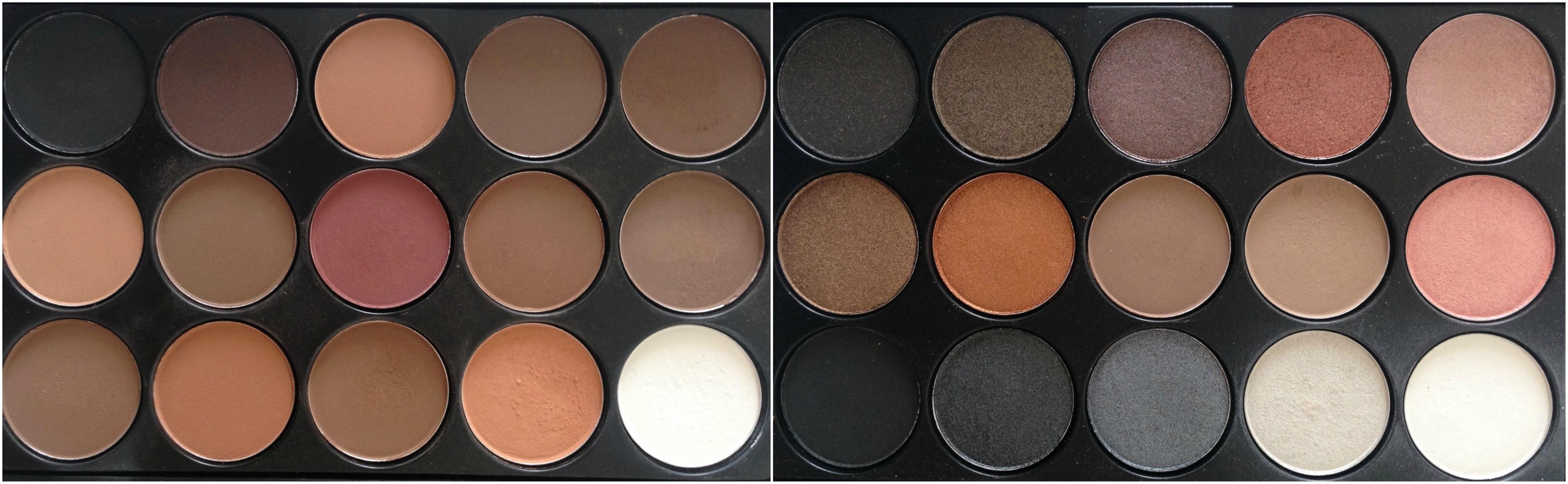 ebay paletky oční stíny matné